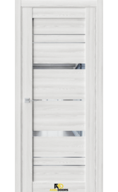 Межкомнатная дверь QZ2 Клен айс (зеркало)