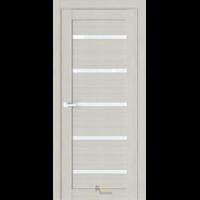 Межкомнатная дверь R1 Капучино (белый сатинат)