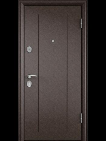 Входная дверь DELTA 10 M Вельвет Белый DPC-2W (TOREX)