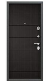Входная дверь DELTA 100 M Венге D22 (TOREX)