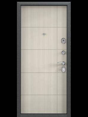 Входная дверь DELTA 100 M DL-2 / Перламутр белый D23 (TOREX)