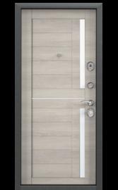 Входная дверь DELTA 112 Синий букле / CT Wood Light Grey (TOREX)