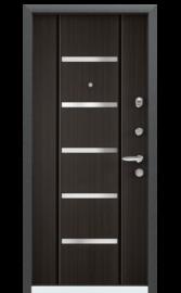 Входная дверь SUPER OMEGA 10 RP-4 Венге КОНГО RS-1 (TOREX)