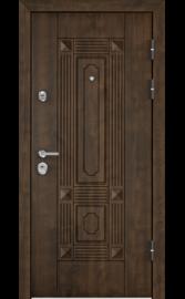 Входная дверь ULTIMATUM PP Орех Грецкий КВ-9 (TOREX)