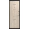 Входная дверь LUX-6 серебро - седой дуб (Центурион)