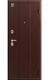 Входная дверь C-102 антик медь - седой дуб (Центурион)