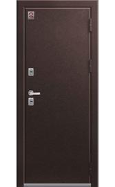 Входная дверь ТЕРМО Т-2 шоколад муар - миндаль 2020 (Центурион)