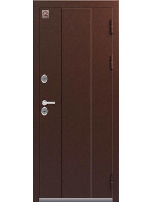 Входная дверь ТЕРМО Т-4 серебро-седой дуб (Центурион)