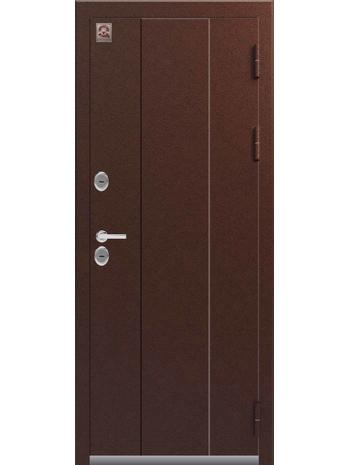 Входная дверь ТЕРМО Т-4 медь-тиковое дерево (Центурион)