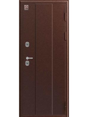 Входная дверь ТЕРМО Т-6 медь-тиковое дерево 2020 (Центурион)