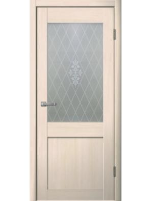 Межкомнатная дверь ЧДК М6 Беленый дуб