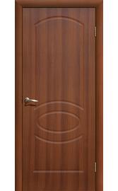 Межкомнатная дверь ДГ Неаполь Итальянский орех