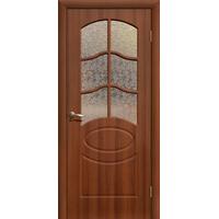 Межкомнатная дверь ДО Неаполь Итальянский орех