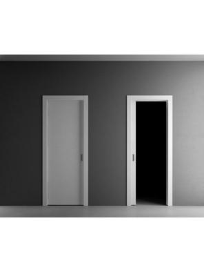 Раздвижная дверь и пенал в стену