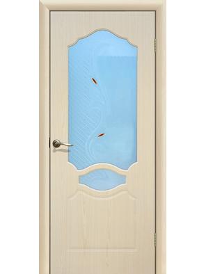 Межкомнатная дверь ДО Венеция Беленый дуб