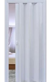 Межкомнатная дверь-гармошка Белая