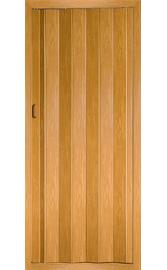 Межкомнатная дверь-гармошка Груша