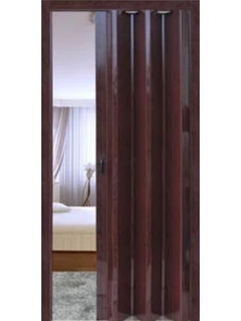 Межкомнатная дверь-гармошка Венге