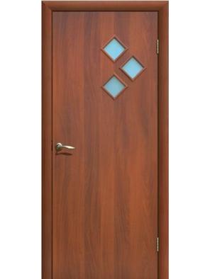 Межкомнатная дверь ДО Стрела Итальянский/Миланский орех