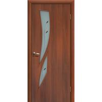 Межкомнатная дверь ДОФ Стрелиция Итальянский/Миланский орех