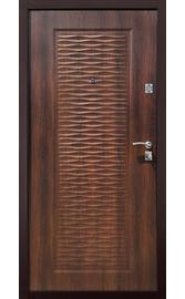 Входная дверь ВОЛНА металл-МДФ